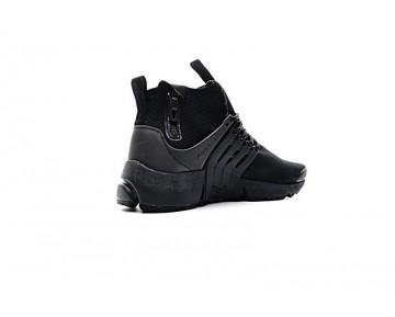 Nike Air Presto Mid Utility Schuhe Herren 859524-001 Triple Schwarz