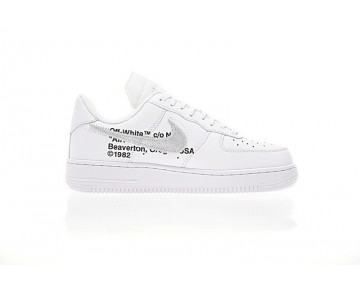 Unisex Aa3825-100 Schuhe Weiß Schwarz Off-White X Nike Air Force 1 Low