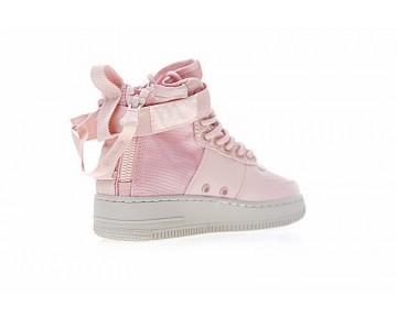 Schuhe Aa3966-800 Damen Ligh Orange Rosa Nike Sf Air Force 1 Utility Mid