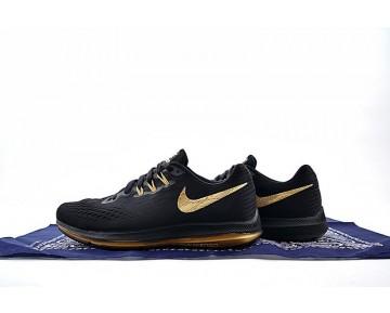 Schuhe Herren  Nike Zoom Winflo 4 898468-998 Schwarz/Gold