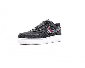 Unisex Nike Air Force 1 823511-402 Indian Tannin Totem Schwarz Schuhe