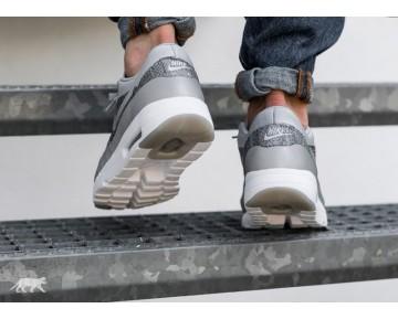 Nike Air Max 1 Ultra Flyknit Wolf Grau Weiß Schuhe 843384-001 Unisex
