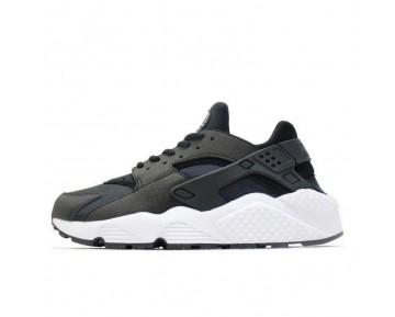 Schuhe 634835-006 Nike Wmns Air Huarache Unisex Schwarz/Weiß