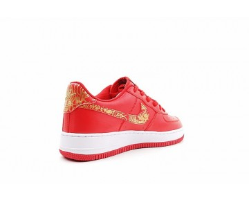 Unisex Phoenix Embroidery Rot Gld 919729-992 Nike Air Force 1 Low Premium Lunar New Year Id Schuhe