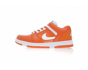 Orange Unisex Aa0871-808 Schuhe Supreme X Nike Sb Air Force 2 Low Sb