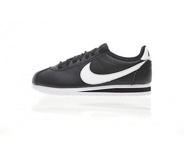 Schwarz/Weiß 807471-010 Schuhe Nike Classic Cortez Leather Unisex