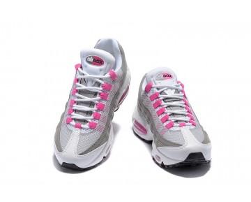 Nike Wmns Air Max 95 Essential Damen 307960-001 Weiß/Grau/Rosa Schuhe