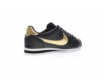 Nike Classic Cortez Schwarz/Gold Herren 902801-002 Schuhe