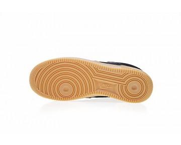 Unisex Aa0287-002 Nike Wmns Air Force 1 '07 Se Schuhe Schwarz Grau-Gum Braun