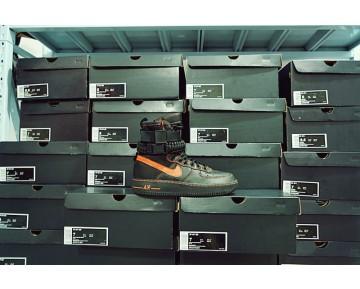 Schuhe Edc A$Ap Vlone X Nike Special Field Air Force 1 816771-991 Unisex Schwarz Orange