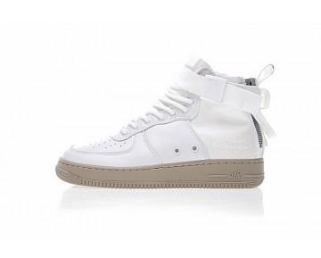 Unisex Schuhe Nike Sf Air Force 1 Utility Mid Weiß/Olive Grün