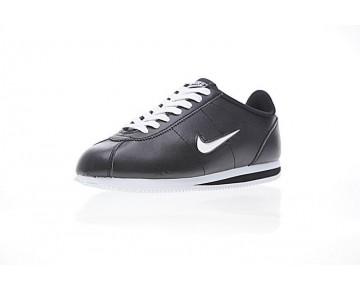 Schuhe 938343-001 Unisex Schwarz/Weiß Nike Cortez Basic Jewel Qs