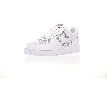 Takashi Murakami X Nike Air Force 1 Low Unisex Sun Flower 923088-100 Schuhe