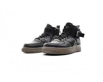 Schwarz Nike Sf Air Force 1 Mid Qs Schuhe Aa7345-001 Unisex