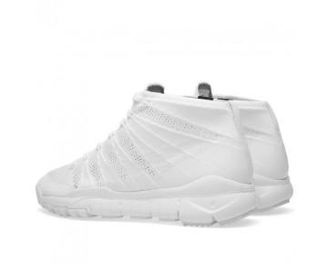 Herren Weiß/Weiß Schuhe 652961-101 Nike Flyknit Trainer Chukka Sfb Sp