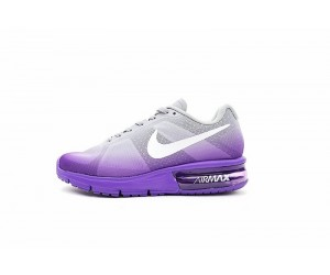 official photos a56f1 fbc50 Damen 719916-503 Schuhe Nike Air Max Sequent Lila Grau
